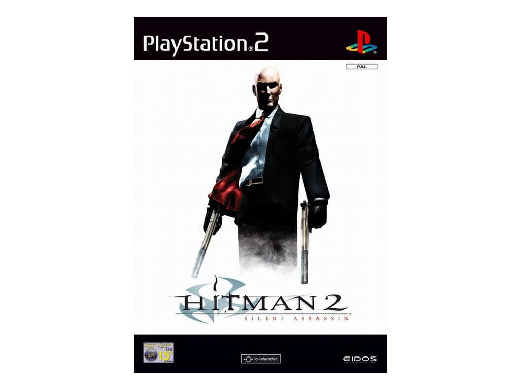 PS2 Hitman 2 Silent Assassin (DE)