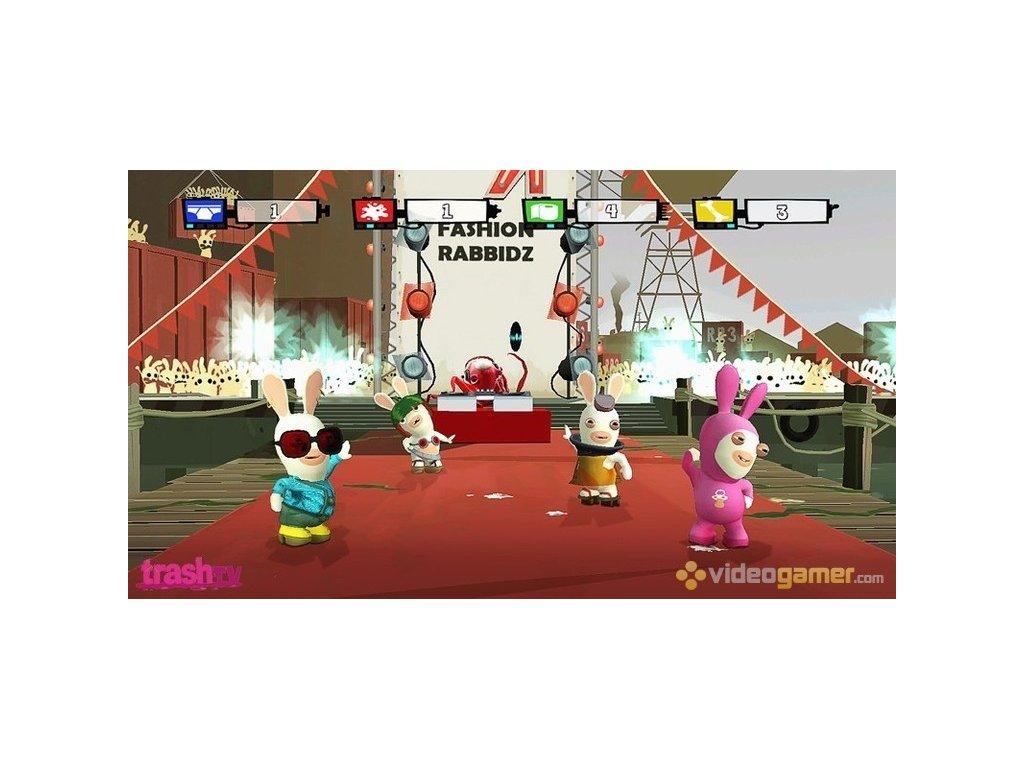 Nintendo Wii Rayman Raving Rabbids TV Party