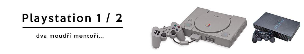 PlayStation 1 a 2 - Dva múdri mentori mojej mladosti